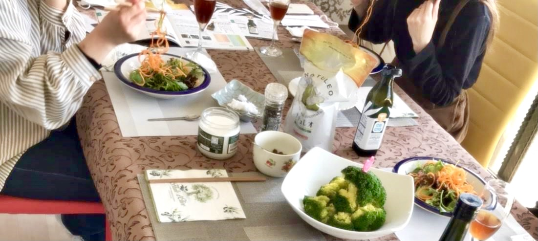 【ココナッツオイルdeお料理教室】